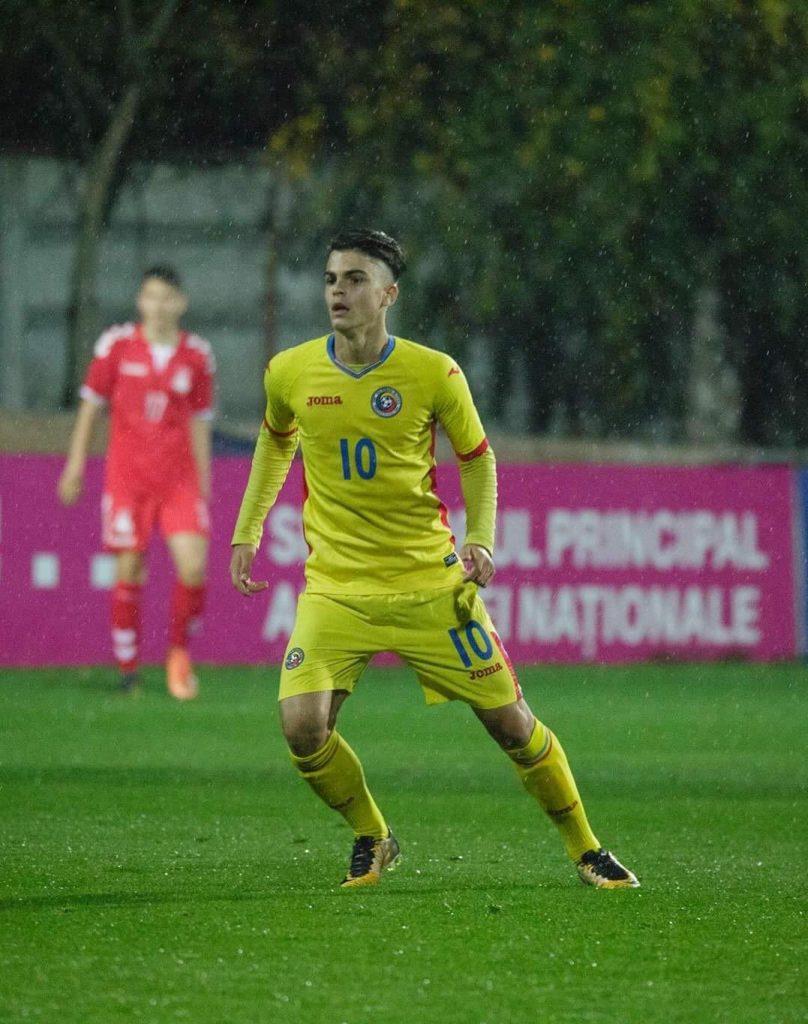 Vlad Mitrea la Echipa Nationala a Romaniei