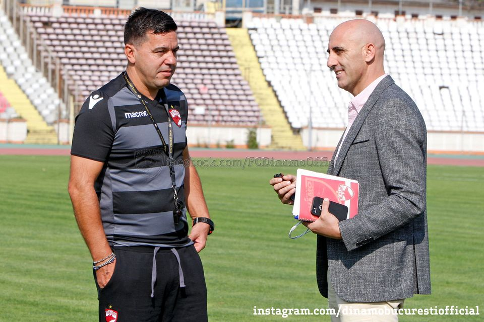 Scandal la Dinamo între Cosmin Contra și Rufo Callado!