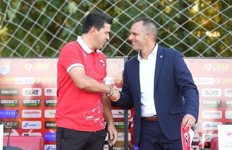 """Pablo Cortacero îl avertizează pe Cosmin Contra: """"Rezultatele trebuie să vorbească!"""""""